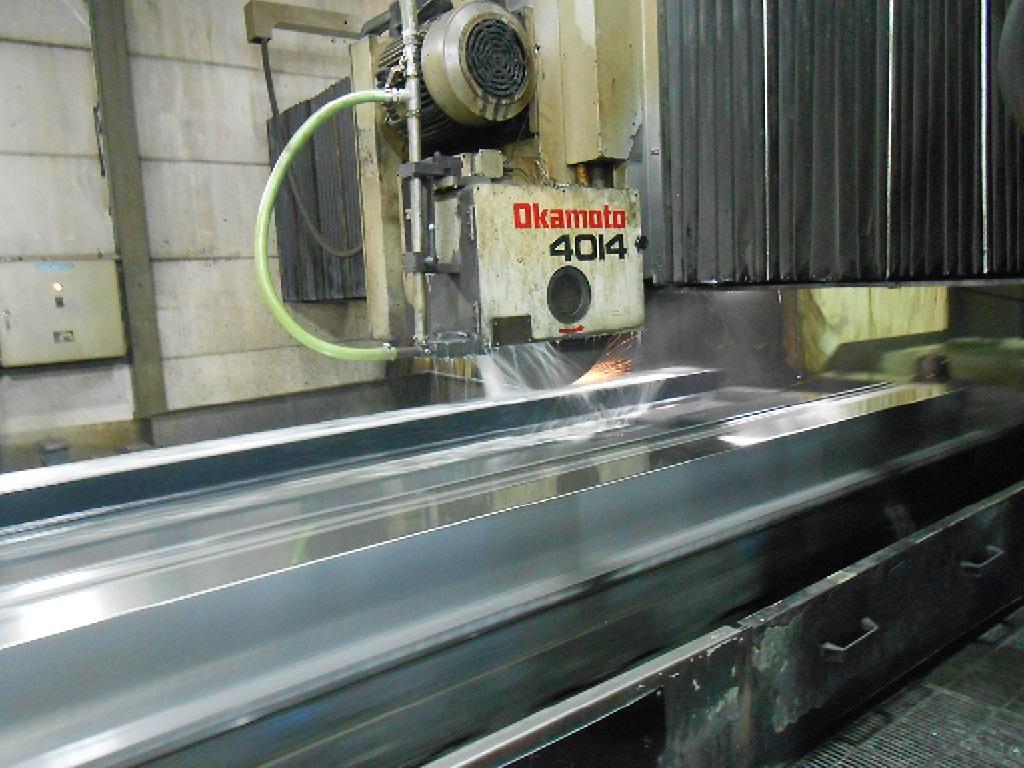 岡本製 門型研磨機